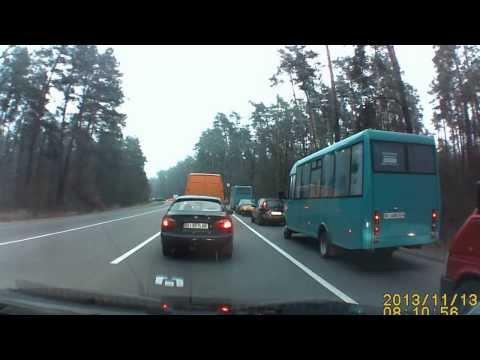 Курьезы на дорогах » Видео ДТП, записи с