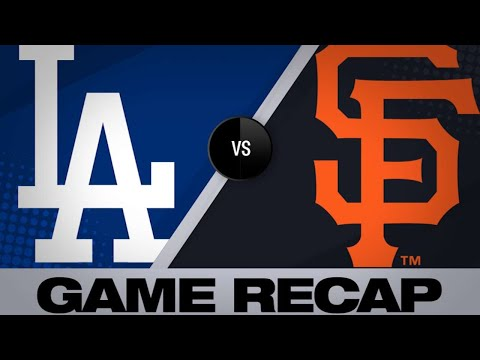 6/8/19: Seager, Turner lead Dodgers past Giants