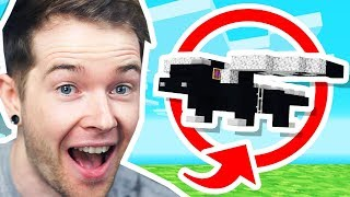 Building a MINI ENDER DRAGON in Minecraft Hardcore!