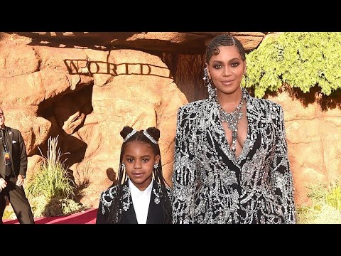 Beyonce&39;s Daughter Blue Ivy SINGS Listen to Their Lion King Collab