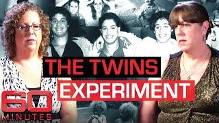 Cruel secret experiment separates twins and triplets at birth   60 Minutes Australia