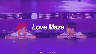 Love Maze | BTS (방탄소년단) English Lyrics
