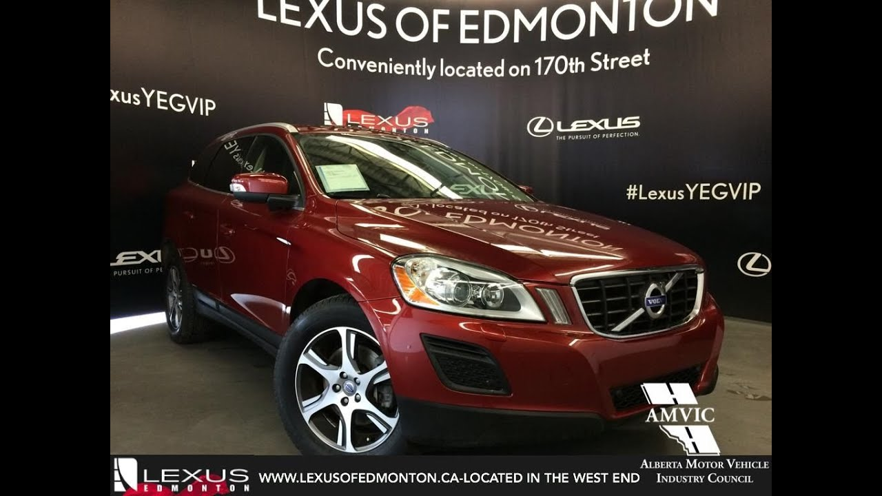 Used Red 2013 Volvo XC60 AWD T6 R-Design Walkaround Review ...