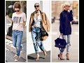 casual street style in winter