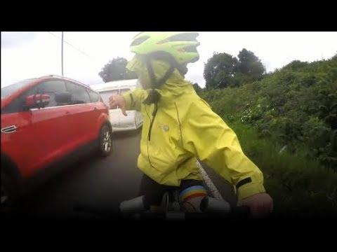 Do cars overtake bikes dangerously? | ITV...