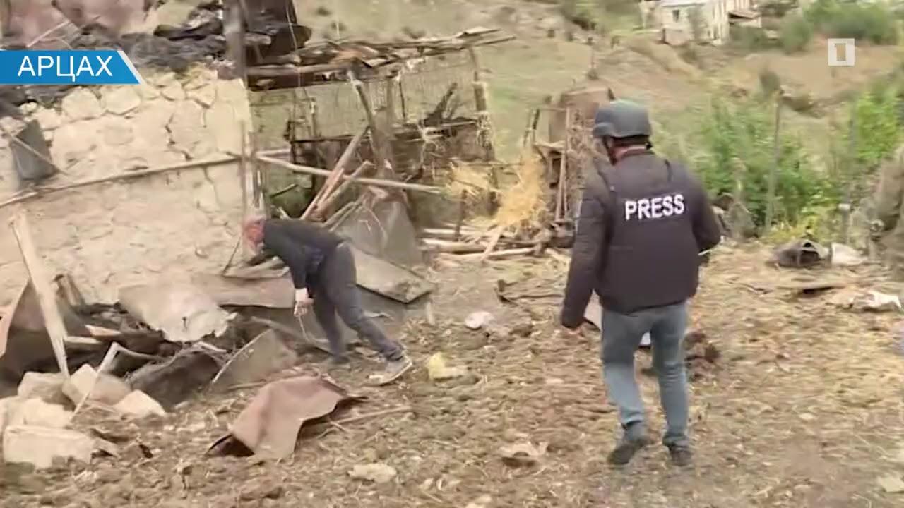 Степанакерт. Город, пострадавший из-за ракет