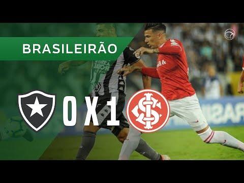 BOTAFOGO 0 x 1 INTERNACIONAL - GOL - 30/11 - CAMPEONATO BRASILEIRO 2019