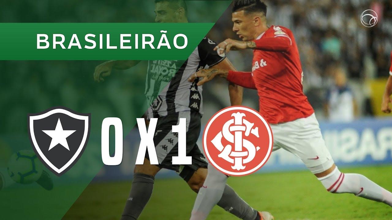 Ботафого  0-1  Интер Порту-Алегри видео