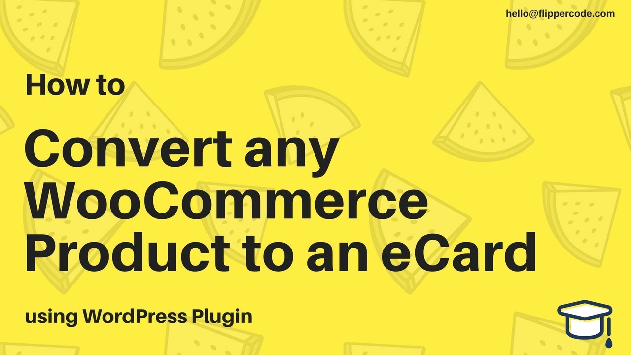 How To Convert Any Woocommerce Product To An Ecard Youtube