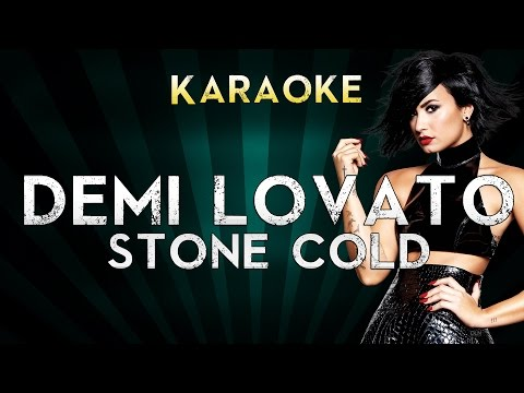 Demi Lovato - Stone Cold  Lower Key Karaoke Instrumental  Cover Sing Along
