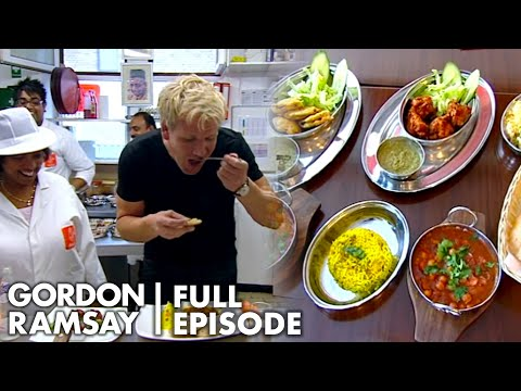 Gordon Is Blown Away By Small Indian Restaurants Performance & Food | Ramsay's Best Restaurant