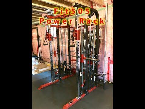 Fit505 Power Rack with Smith Machine