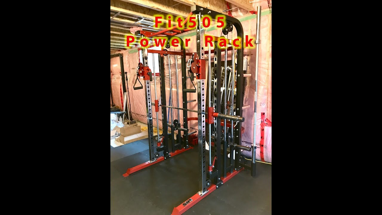 fit505 power rack with