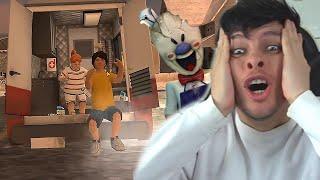 FINAL DEFINITIVO: ESCAPÉ DEL HELADERO ROD Y AYUDÉ A LA NIÑA !! OMG - Ice Scream 2 (Horror Game)