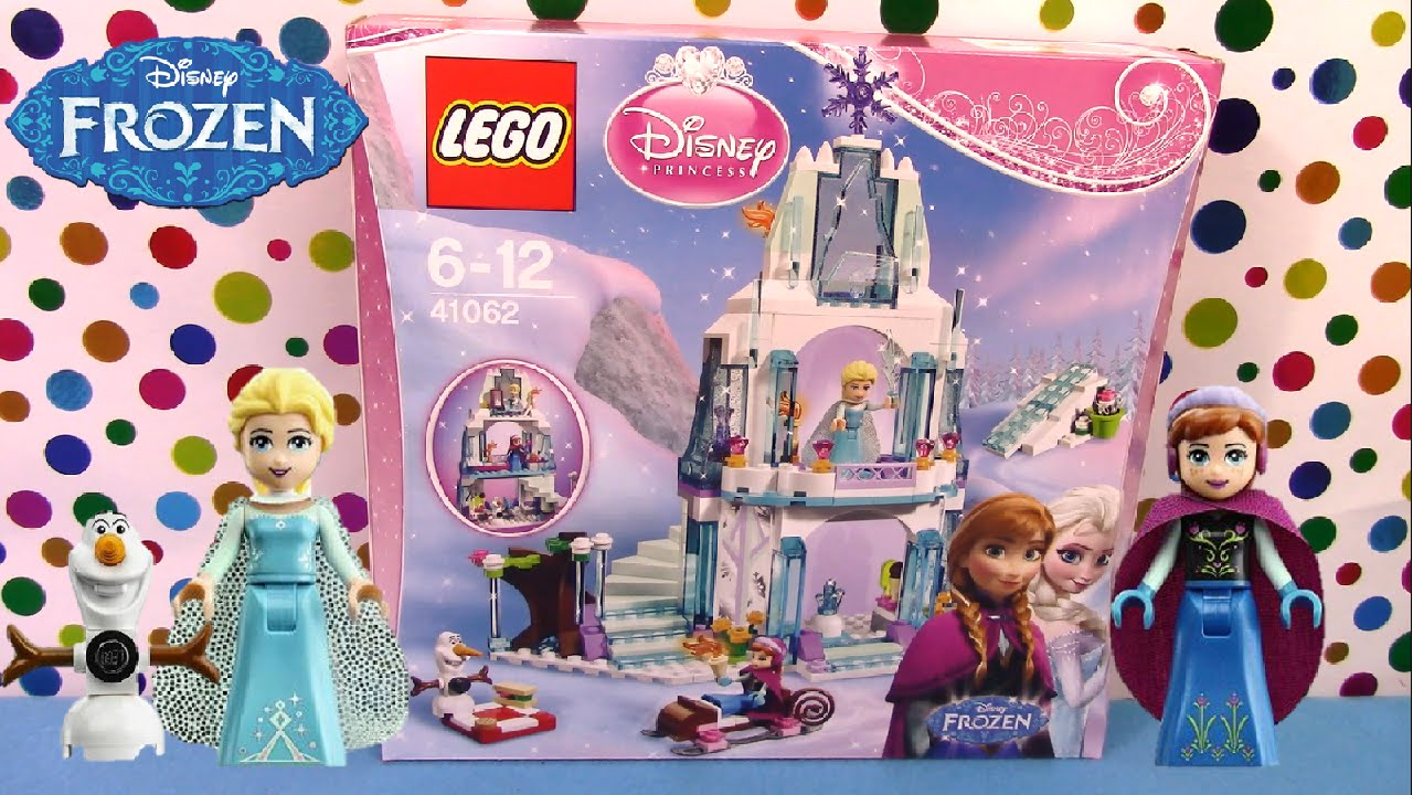 60c67b02f7b47 LEGO LETS BUILD EP #4 DISNEY FROZEN Sparkling Ice Castle 41062 - Surprise  Egg and Toy Collector SETC