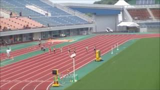 1着:青野 美咲(今治日吉中) 26秒62 2着:岡田 愛結莉(西条西中) 26...