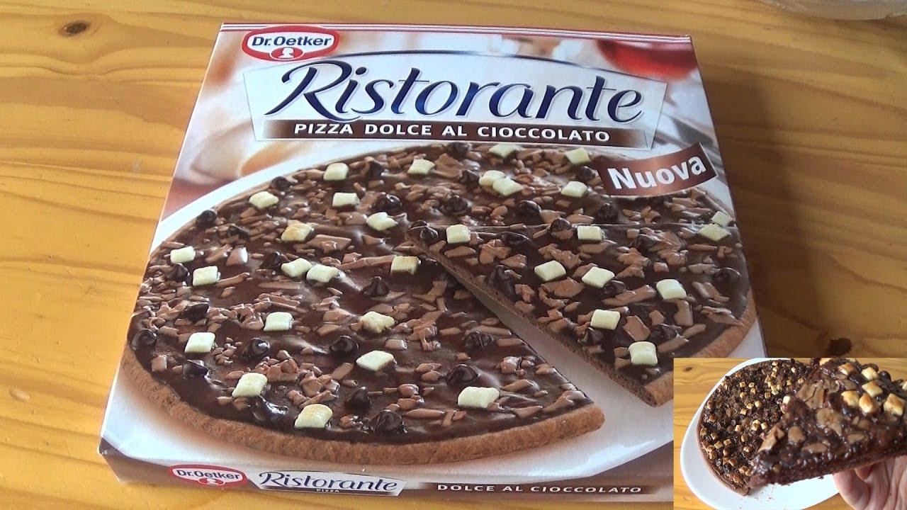ristorante schokoladen pizza test dolce al cioccolato youtube. Black Bedroom Furniture Sets. Home Design Ideas