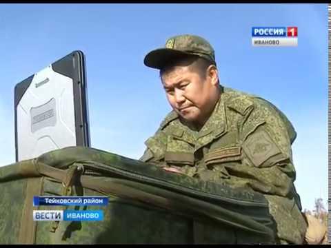 Тейковские ракетчики выполняют учебные марши, во время которых отрабатывают перемещение «Ярсов»