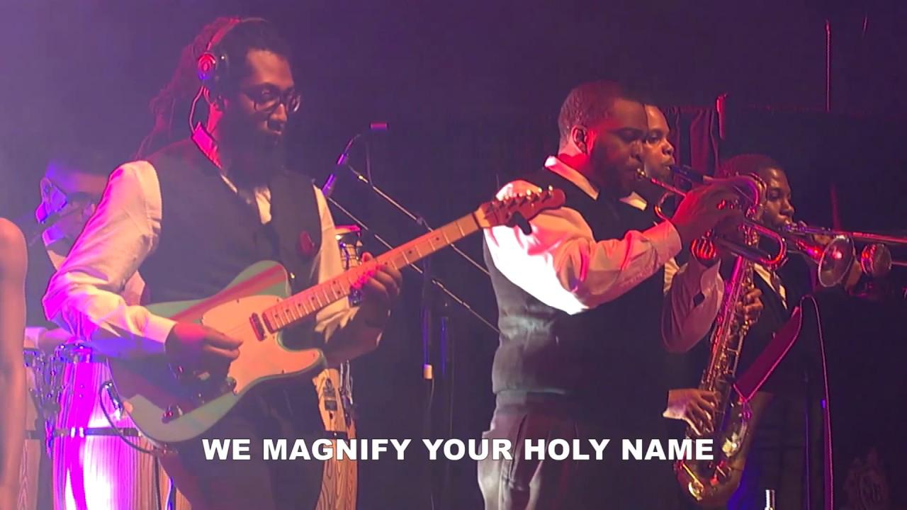 WE BLESS YOUR NAME - Sonnie Badu  - Live Recording - Tribute To Vuyo Mokoena