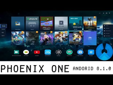 Phoenix ONE Console / Phoenix OS Android 8.1.0 Complete Review With PUBG Mobile