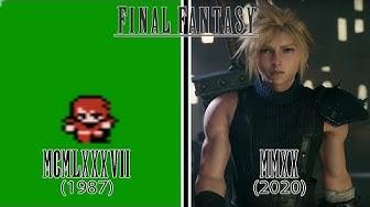 Final Fantasy Games Evolution (1987 - 2020)