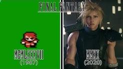 Final Fantasy Games Evolution (1987 - 2020)