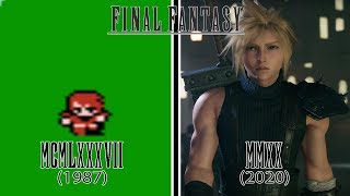 Gambar cover Final Fantasy Games Evolution (1987 - 2020)