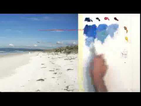 Oil Painting Lesson - MasterClass - Ruakaka Beach