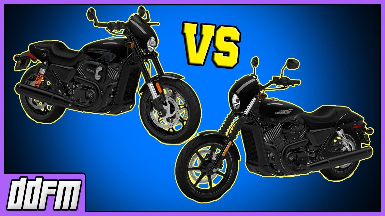 2017 Harley-Davidson Street Rod vs Harley Street 750 / Harley Street on