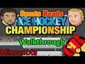 Sports Heads Ice Hockey Championship | walkthrough with Minnesota