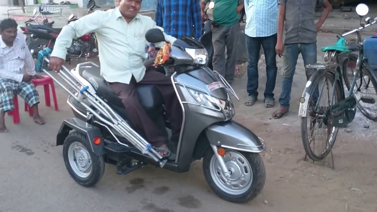 HONDA ACTIVA 125 CC MODIFIED BY BAJEE AND SONS , PH NO