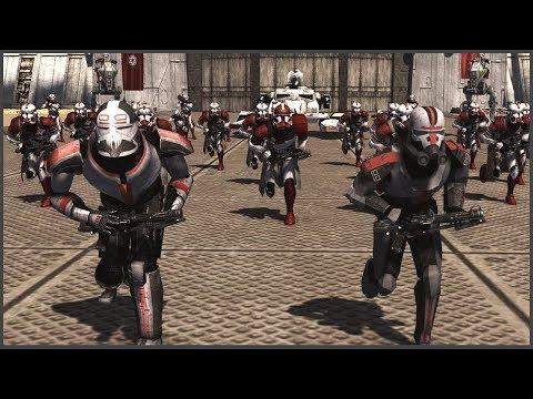 БРАКОВАННАЯ ПАРТИЯ и ПРИКАЗ 66! ► Men Of War: Star Wars Mod Battle Simulator