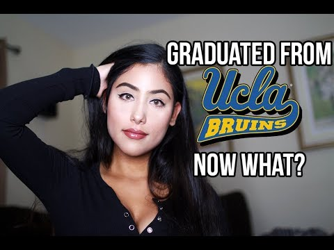 I GRADUATED FROM UCLA...NOW WHAT?