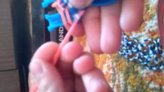 Видеоурок по плетению из резинок браслета