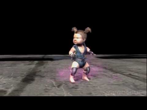 [HD] Mortal Kombat (2011)   Sonya Blade's Babality