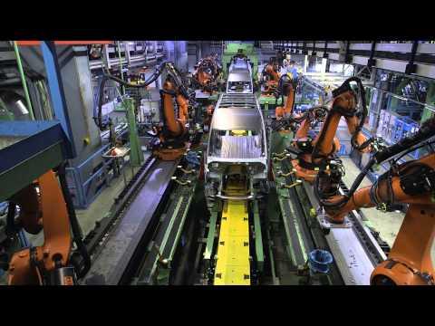 Производство нового Mercedes-Benz Sprinter завод Дюссельдорф 1