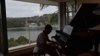 Thuyền Viễn Xứ. Piano improvisation by NVH. Soạn và đàn sau gần 3 năm tự học