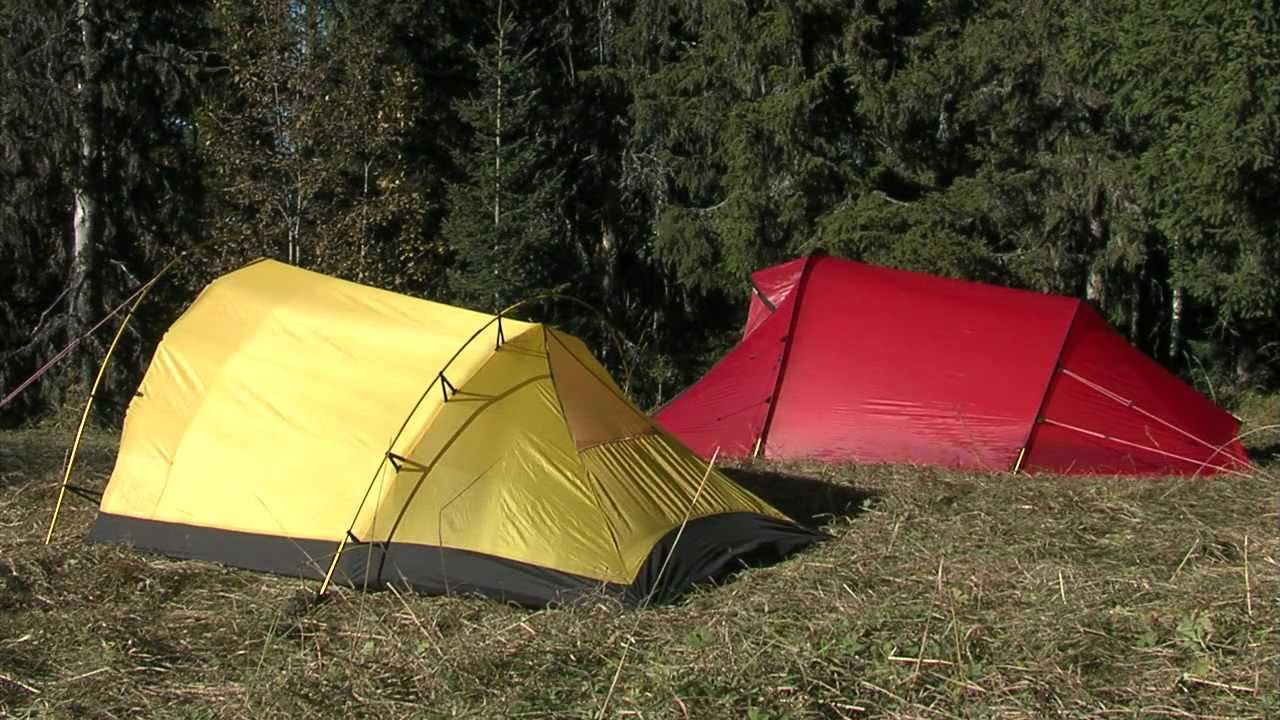 & Hilleberg Nallo Inner Tent - Pitching instruction - YouTube