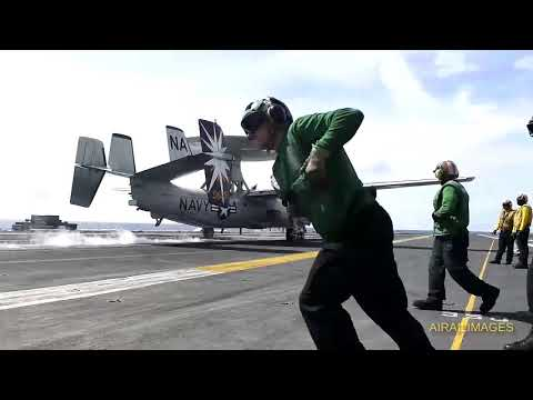 Hawkeye Launch and Recovery - Nov 2017
