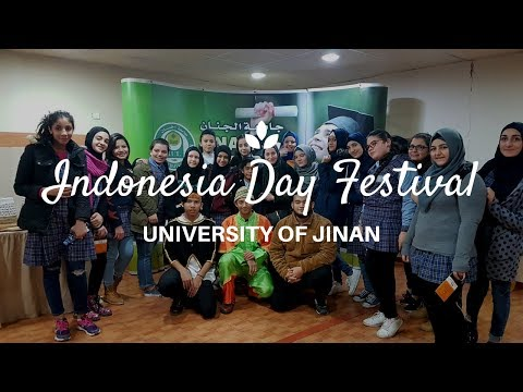 Mengenal Indonesia di Timur Tengah-Lebanon | Indonesia Day Festival🇮🇩 - University Of Jinan