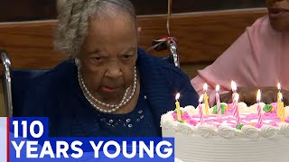 NJ woman celebrates 110th birthday with party, call from governor