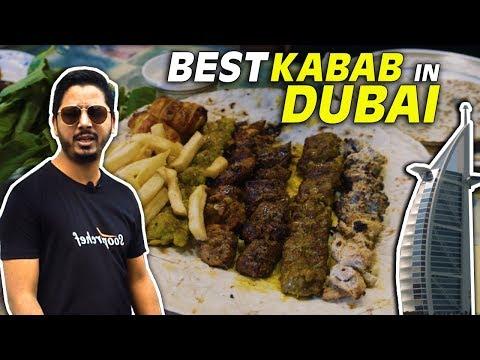 Dubai Food Tour 2019 (4K) | Ustad Special Kebab | Best Kebab in Dubai | UAE | SooperChef 🇦🇪