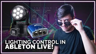 Controlling Lights With Ableton Live (MIDI to DMX - Enttec DMXIS)