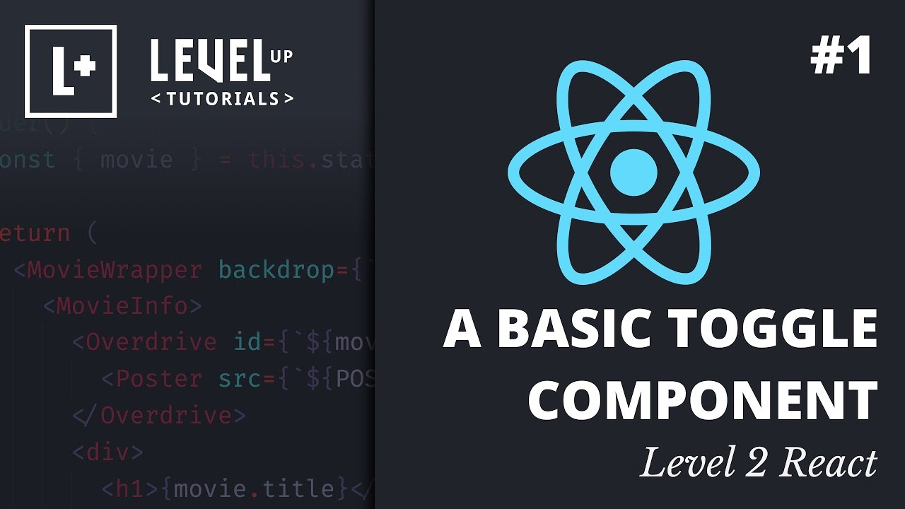 #1 A Basic Toggle Component - Level 2 React Preview
