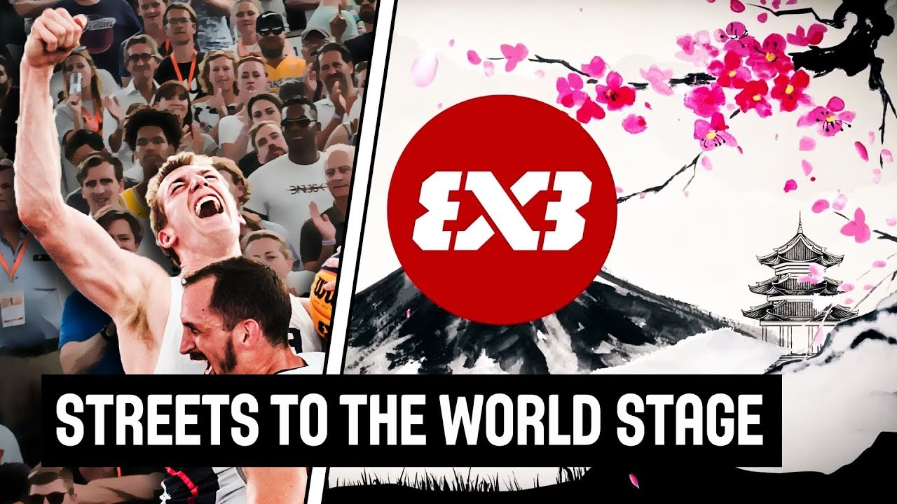 From the Streets to the Olympic Games! | FIBA 3x3 x Tokyo 2020