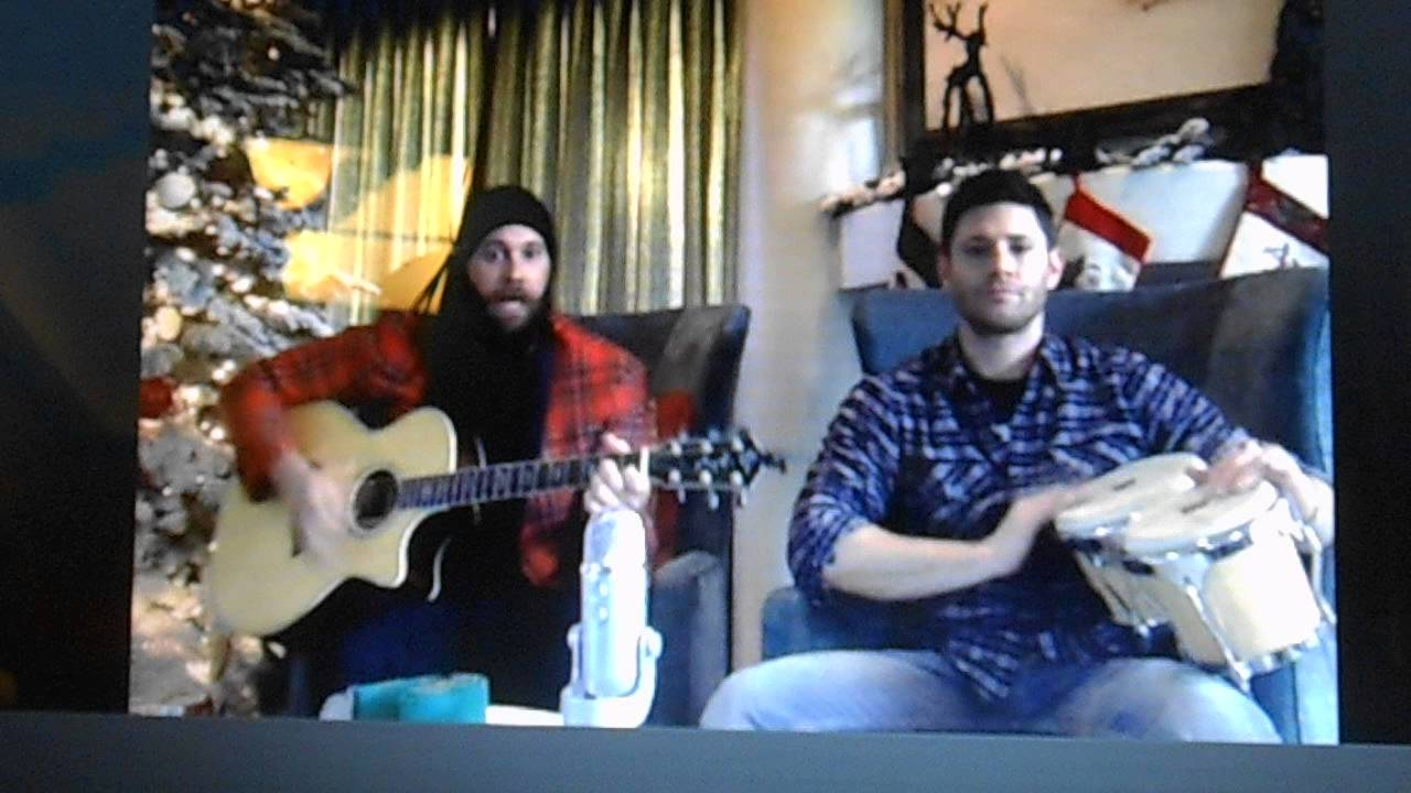StageIt Christmas with Jason Manns and Jensen Ackles (4) - YouTube