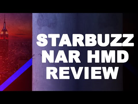 The Hookah Lounge | Review | Starbuzz NAR Head HMD