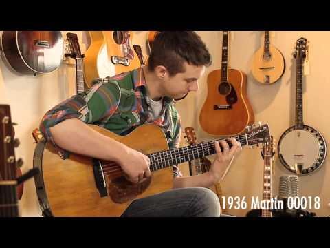 Folkway Music - 1936 Martin 000-18