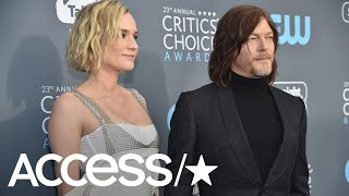 Diane Kruger & Norman Reedus Share Cute PDA At 2018 Critics' Choice Awards
