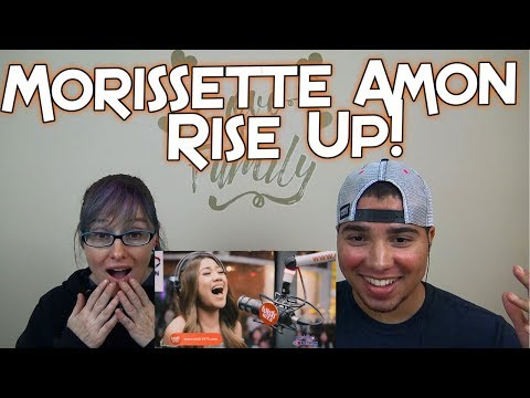 """MOM & SON REACTION! Morissette Amon performs """"Rise Up"""" LIVE on Wish 107.5 Bus"""